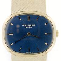 PATEK PHILIPPE 3545~Men's Golden Ellipse 18K White Gold~Manuel Wind~C. 1970~WOW!
