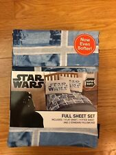 Star Wars Classic Logo Full Sheet Set, new