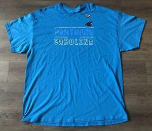 Carolina Panthers Majestic Men's T-shirt Size XXL Brand New!!!