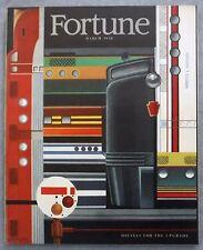 FORTUNE Magazine March 1948 Vol XXXVII No 3 Diesels For The Upgrade Poker VG+