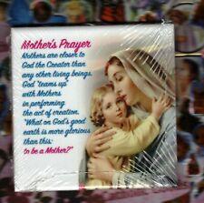 Mother's Prayer - wall art ceramic tile from Italy