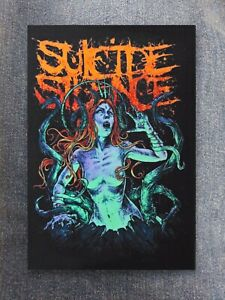 Suicide Silence patch sew on printed textile patch rock nu metal core deathcore