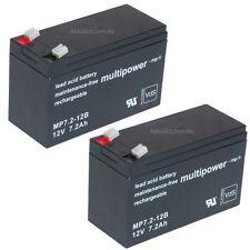 Blei-Gel Akku 12V 7,2Ah f. USV APC RBC5 SU700IBX SU700INET SU450 Accu Batterien