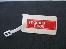 THOMAS COOK LUGGAGE SUITCASE TAG Vintage Travel Collectible Logo