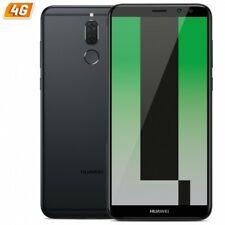 Teléfonos móviles libres negro Huawei Mate 10 con conexión 4G