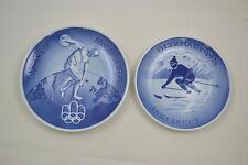 Royal Copenhagen - Olympiade 1976 Montreal + Innsbruck - 2 Sonderteller