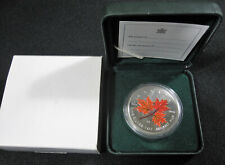 2001 Canada $5 Coloured Silver Maple Leaf - Mint in Package