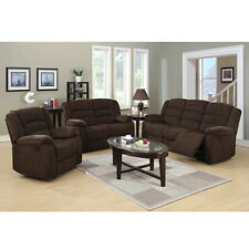 Modern Loveseat Sofa Recliner Elevating Footrest Armrest Living Room Couch Set