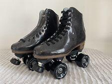 Sure-Grip Stardust Glitter Roller Skates Size 6 (W's 7 1/2) Not Moxi or Impala