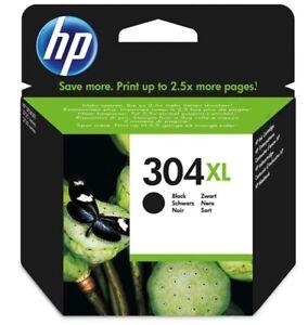 Original HP 304XL SCHWARZ N9K08AE Druckerpatrone Deskjet 2630, 3720, 3730, 3735