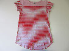 Women's STUSSY Size L?? Striped Top Short Sleeve New With Defect Ladies Girl's