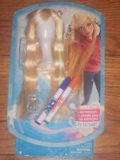 NEW on card LIV Hairstyle Long Blonde Wig Hair for Liv Doll w Markers barrettes