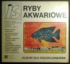 album dla kolekcjonerów Ryby akwariowe naklejki (dancop)