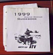 Arctic Cat ATV  - 1999 Service Seminar Guidebook
