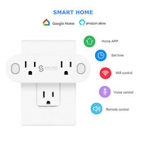 WiFi Smart Plug Socket Remote Voice Control Timing for Google Home Alexa Outlet