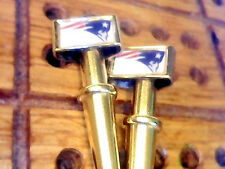 "2 Patriots ""Elvis"" Cribbage Pegs, Brass+Stainless Steel, USA, FREE Velvet Bag  _"