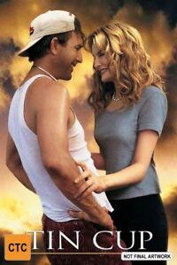 Tin Cup DVD Kevin Kostner Rene Russo Movie - REGION 4 AUSTRALIA