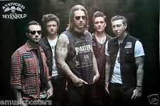 "AVENGED SEVENFOLD ""GROUP WITH HANDS IN POCKETS"" POSTER FROM ASIA - Heavy Metal"