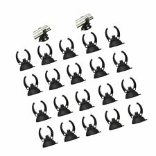 New listing Yohii 20Pcs Aquarium Fish Tank Suction Cup Heater Clips Clamps Holder 33mm/1.