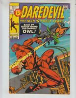 Daredevil 80 VG+ (4.5) Owl appearance! September, 1971