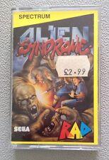 ALIEN SYNDROME BY SEGA / RAD -ZX SPECTRUM 48K / 128K - 1984 VINTAGE RARE GAME
