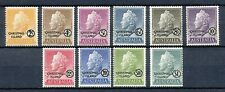 CHRISMAS ISLAND 1958 - QUEEN ELISABETH II - DEFINITIVE SET OF 10 - MNH     Hk71e