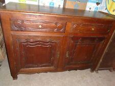 Meuble ancien, meuble chêne, dresse chêne massif, buffet, commode