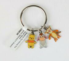 metal Disney Key ring Winnie the Pooh /& Eeyore mirror locket brand new