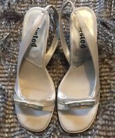 Women's Kenneth Cole Unlisted Sandals SLINGBACK Pumps Heels 10M Shoes