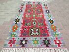 "Turkish Rug Carpet Door Mat Bedroom Kilim Modern Rug Tapis Teppiche 32""x65"""