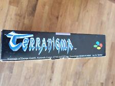 Terranigma - Super Nintendo SNES - in OVP und dem Spiel Sammlerzustand