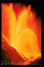 c1959 volcano eruption Kilauea Iki Hawaii National Park postcard