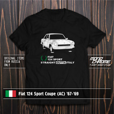 T-shirt Fiat 124 Sport Coupe (AC) '67-'69