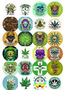 24 Weed STICKERS Adult Smoke 420 Weed Jar, tin, bag labels, stash, fun 24 unique