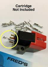Phono Cartridge Headshell Connector Pins 20pack Crimp and/or Solder Type Pin
