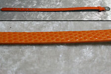 "1/4 scale doll belt 8.5"" x .25"" MSD BJD Dollfie MNF Unoa Ellowyne Wilde orange"