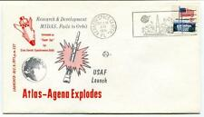 1971 Atlas-Agena Explodes MIDAS USAF Launch Kennedy Space Center Delta NASA USA