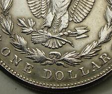 1921-S $1 Morgan Silver Dollar, ZERBE PROOF, ERROR, Weak S, 90% Silver, #15223