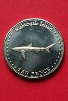 2011 Nightingale Tristan da Cuhna St Helena & Ascension Island Marine Life Coin
