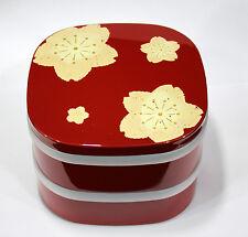 お弁当 BENTO BOX Hana Chiru 800 ml x2 - Made in Japan