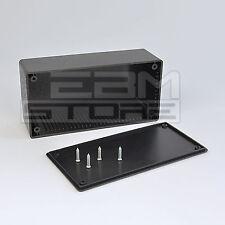 Contenitore 129x64x45 mm - custodia per elettronica in ABS nero - ART. GE07
