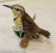 Ceramic Bird Meadowlark