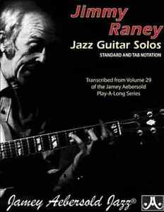 Jimmy Raney Jazz Guitar Solos: Standard and TAB Notation: Transcribed from Vo...