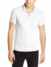 BOSS ORANGE BY HUGO BOSS PASCHA SLIM FIT SALTWASH POLO. WHITE, SIZE XXXL, NEW