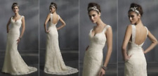 Vintage Lazaro Wedding Gown SP2008 Collection LZ3813 size 16 (altered to 10)
