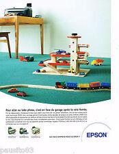 PUBLICITE ADVERTISING 065  2004  EPSON   le labo photo  scanner copieur STYLUS