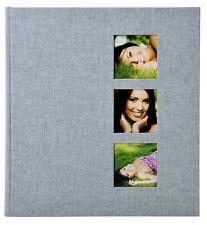Goldbuch Fotoalbum Style grau 27630 - 30x31cm, 60 weiße Seiten zum Einkleben