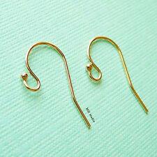 20pcs 14k gold filled ball french hook earring ear wire plain single dot E01g20