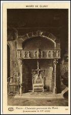 CLUNY Burgund France CPA ~1910/20 Cheminée Kamin Mans