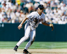CAL RIPKEN JR  IN THIS GREAT ACTION SHOT IN THE FIELD 8 x 10 ORIOLES